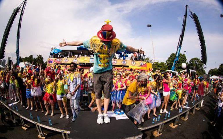 Bloco Sargento Pimenta no Carnaval do Rio em 2014.