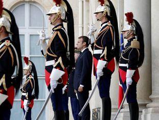 O presidente francês Macron