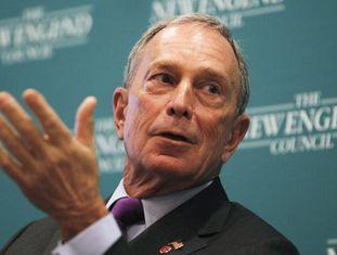 O prefeito de Nova York, Michael Bloomberg.