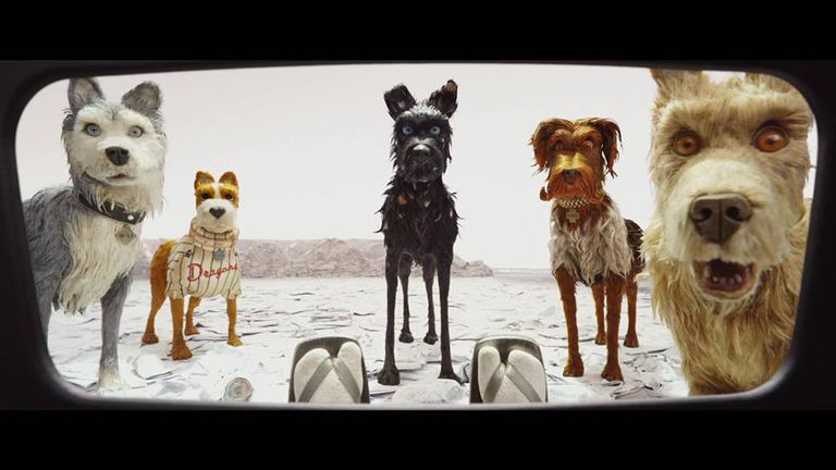 Imagem do filme 'Isle of Dogs', de Wes Anderson.