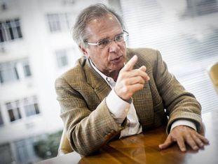 O economista Paulo Guedes, o principal conselheiro econômico do candidato Jair Bolsonaro (PSL).