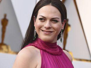 A atriz Daniela Vega no Oscar 2018