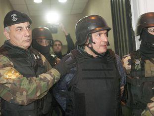 José López, ex-secretário do Governo de Cristina Kirchner, preso no início da semana ao tentar esconder 9 milhões de dólares em um convento.