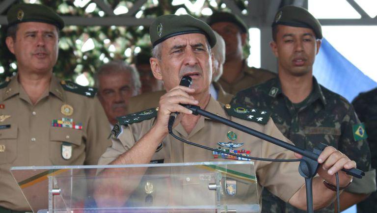 O general Luiz Eduardo Ramos Baptista Pereira, em abril deste ano.