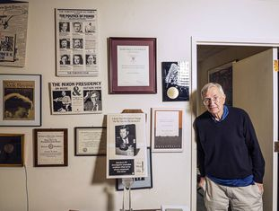 Seymour Hersh, na segunda-feira, em seu escritório em Washington.