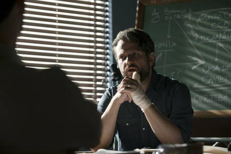 O ator Selton Mello, em uma imagem da série 'Ou mecanismo'.