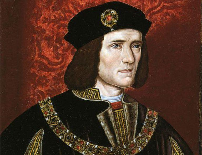 Retrato do rei Ricardo III do século XVI.