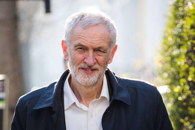 O líder do partido trabalhista, Jeremy Corbyn.
