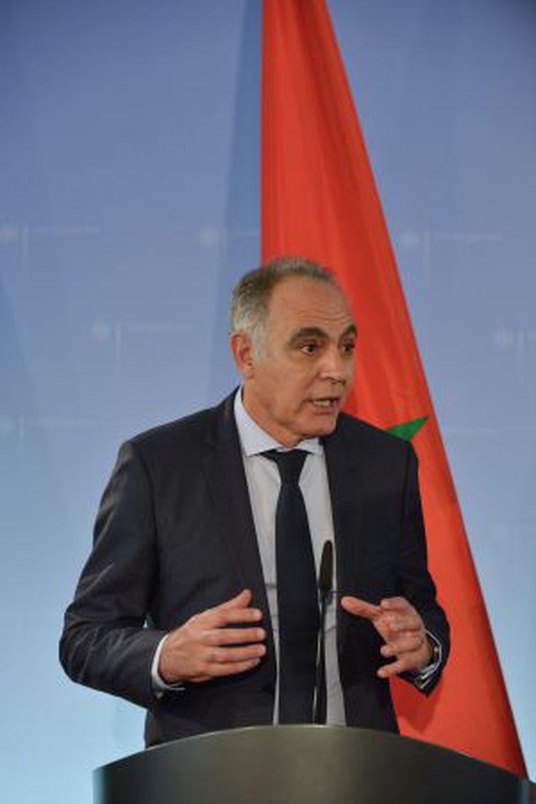 O ministro de Relações Exteriores marroquino Salaheddine Mezouar.
