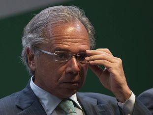 Ministro da economia, Paulo Guedes, em Brasília.