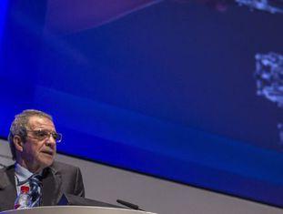 O presidente de Telefônica, César Alierta.