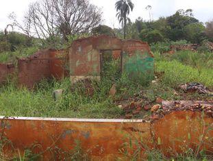 Distrito de Bento Rodrigues, um ano depois da tragédia.