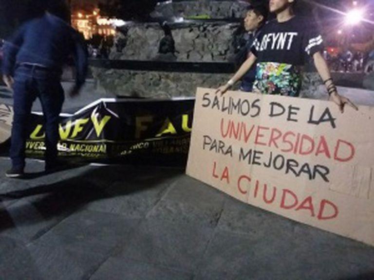 Marcha em Lima