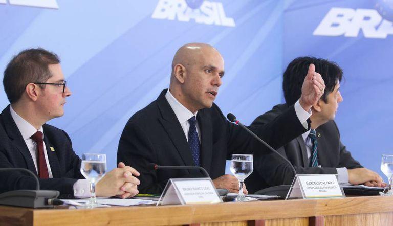 O secretário de Previdência, Marcelo Caetano, explica a PEC.