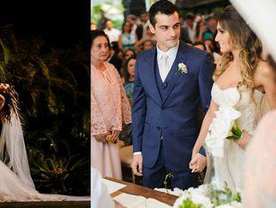 O casamento realizado em Jurerê com recursos públicos.