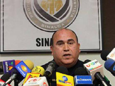Jesús Antonio Aguilar Iñiguez durante uma entrevista.
