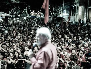 Lula no Recife-PE.