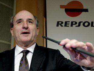 O presidente de Repsol, Antonio Brufau