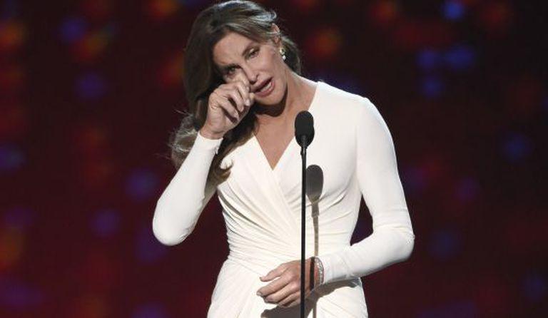 Caitlyn Jenner, na entrega do prêmio Arthur Ashe.