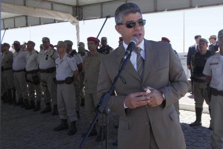 O secretário de Segurança da Bahia, Mauricio Barbosa.