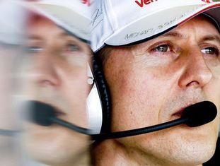 Michael Schumacher, na época em que era piloto da Mercedes.