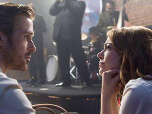 Ryan Gosling e Emma Stone, em 'La La Land'.