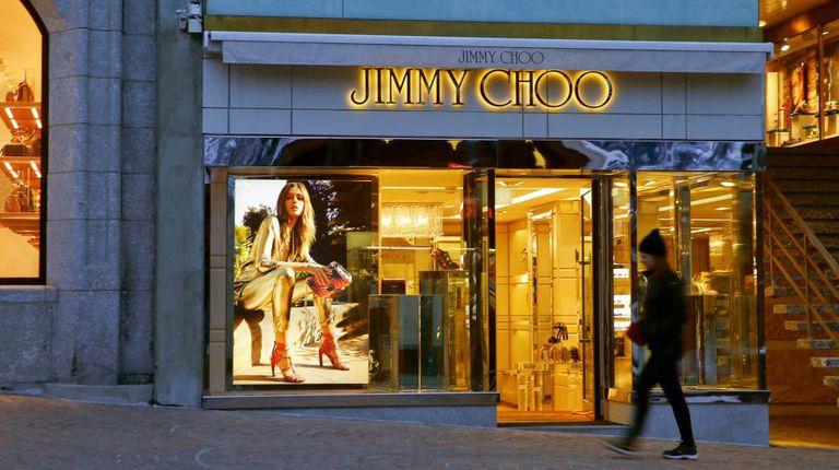 Uma das lojas da grife Jimmy Choo, na Suíça.