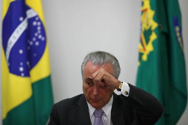 O presidente Michel Temer, assumiu depois do impeachment de Dilma Rousseff.