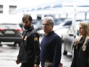 Jacob Barata Filho, preso enquanto tentava embarcar para Portugal.