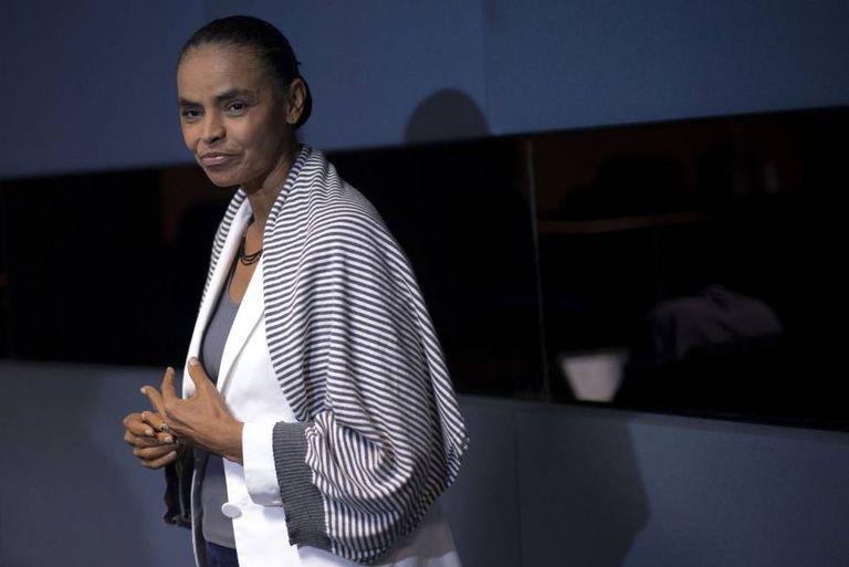 A pré-candidata pela REDE, Marina Silva