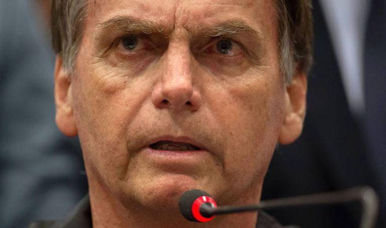 Jair Bolsonaro, o 11 de outubro de 2018.