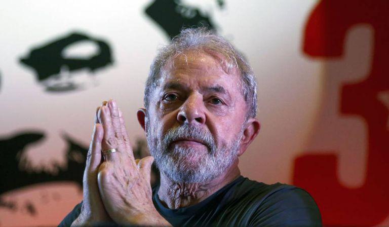 O ex-presidente Lula, em 22 de fevereiro em São Paulo.