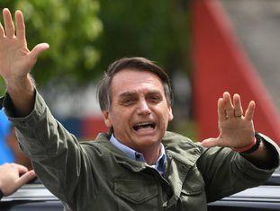 O presidente eleito do Brasil, Jair Bolsonaro.