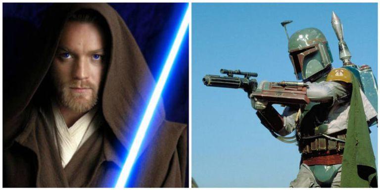 Ewan McGregor como Obi Wan Kenobi e Boba Fett.