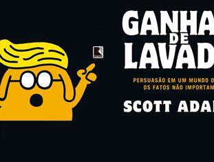 Banner de promoção da tradução brasileira de 'Win Bigly'.