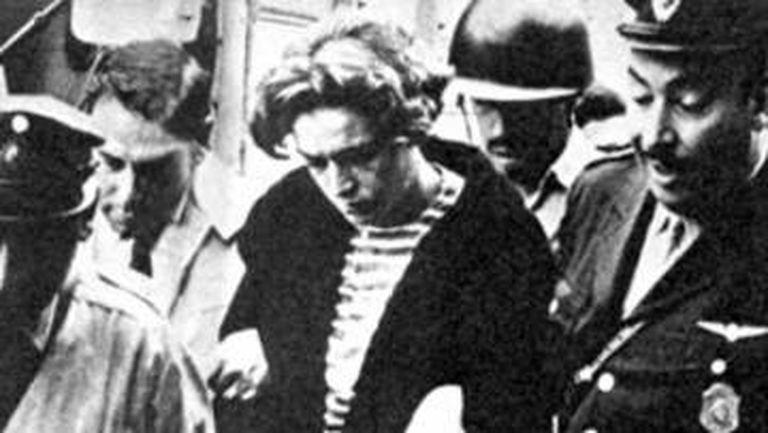 Robledo Puch ao ser preso, em 1972.
