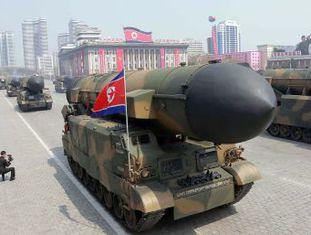 O foguete partiu de uma zona ao norte da capital Pyongyang