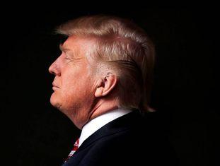 Donald Trump, durante a campanha, em maio.