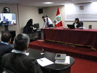 A sessão do julgamento de César Álvarez.