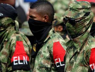 Membros da guerrilha do Exército de Libertação Nacional (ELN).