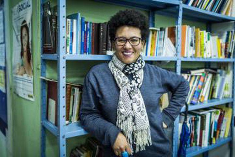 Cinthia Gomes, a idealizadora do Bazar das Poderosas.