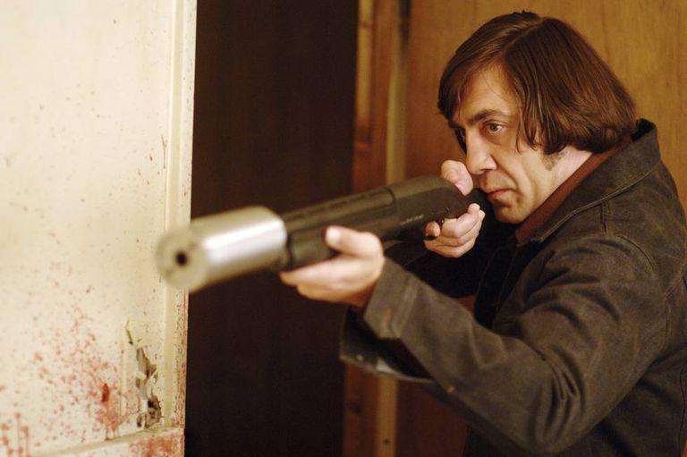 Javier Bardem interpreta um assassino em serie em 'Onde os Fracos Não Têm Vez' (2008).