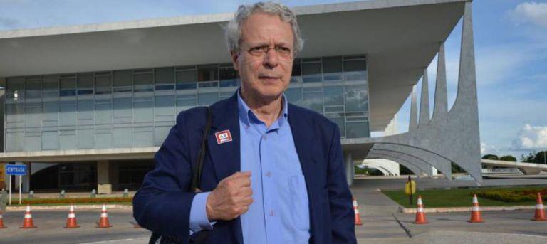 O escritor Frei Betto.