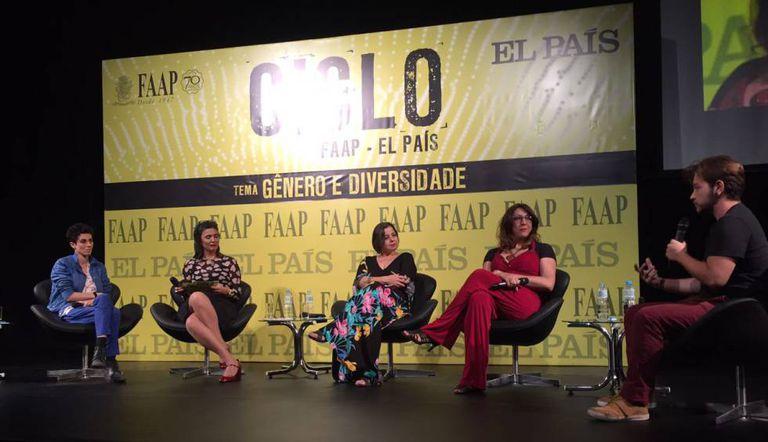Debate na FAAP abordou gênero e diversidade.