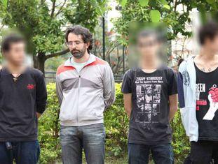 Willian Pina Botelho entre os detidos em 4 de setembro de 2016