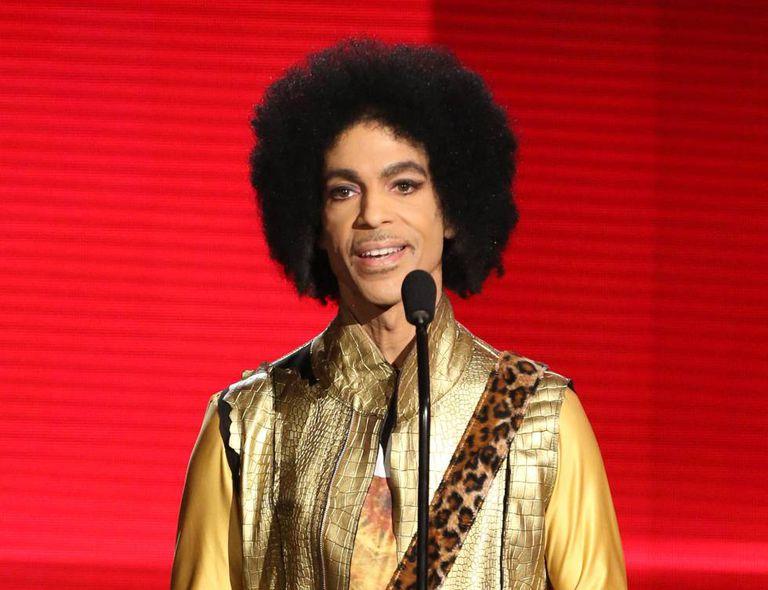 O cantor Prince em uma imagem de 2002.