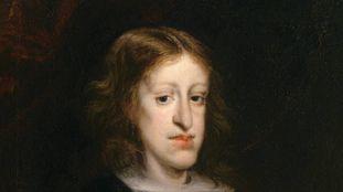 Retrato de Carlos II pintado por volta de 1680 por Juan Carreño de Miranda
