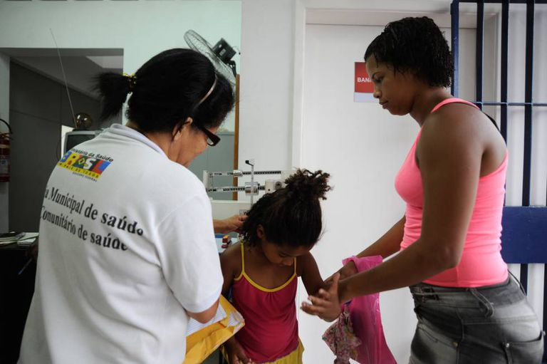 Unidade do Programa de Saúde da Família de Parada Angélica, no município de Duque de Caxias (RJ)