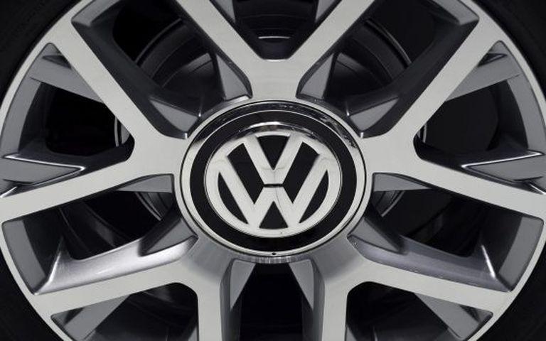 Detalhe de logotipo da Volkswagen . EFE/Arquiivo