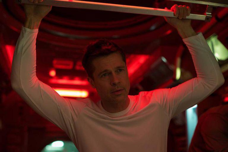 Brad Pitt, em 'Ad Astra'.